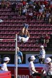 JUUSO TOIVONEN Finland in the DECATHLON high jump event on the IAAF World U20 Championship in Tampere, Finland 10 July, 2018. TAMPERE, FINLAND, July 10: JUUSO stock photography