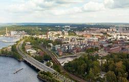 Tampere Finlande Images libres de droits