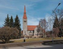 Tampere-Kathedrale Lizenzfreie Stockfotos