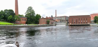 Tampere-Panorama lizenzfreie stockfotos