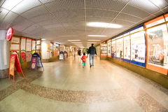 Tampere railway station tunnel Stock Photo