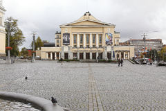 Tampere Theater in Finland Stock Photos