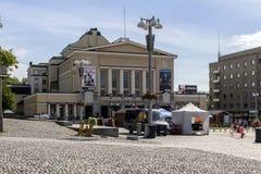 Tampere Theatre stock image