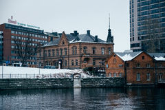 Tampere town architecture. Finland Royalty Free Stock Photos