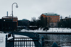 Tampere town architecture. Finland Stock Photos