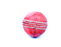 Tampered cricket ball Stock Photography