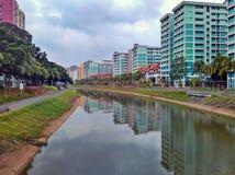Tampines flod Royaltyfri Foto