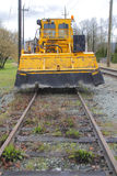 Tamping Machine or Ballast Tamper Stock Photography