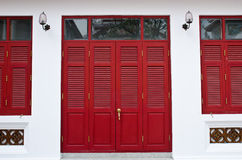 Tample Door And Windows Royalty Free Stock Photos