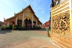 Tample tailandês de buddha em Lumpoon foto de stock royalty free
