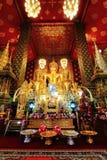 Tample tailandês de buddha em Lumpoon imagens de stock