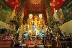 Tample tailandês de buddha em Lumpoon imagem de stock royalty free