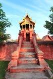 Tample tailandês de buddha em Lumpoon imagens de stock royalty free