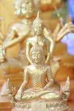 Tample tailandês de buddha em Pai ilustração do vetor