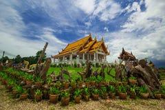 tample tailandês no dia da luz do sol Fotos de Stock Royalty Free