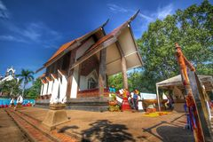 Tample. In Thailand Royalty Free Stock Image