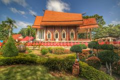 Tample. Of Thailand Royalty Free Stock Photos