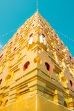 Tample Thailand. Amazing The architecture Pagoda Stock Photo