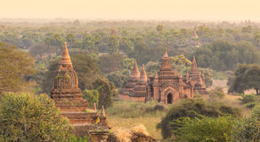 Tamples Bagan, Βιρμανία, το Μιανμάρ, Ασία Στοκ Εικόνες