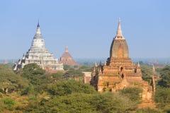 Tamples Bagan, Бирмы, Мьянмы, Азии Стоковое фото RF