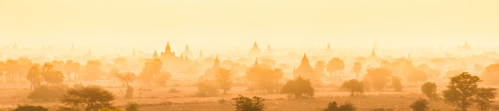 Tamples of Bagan, Burma, Myanmar, Asia. Stock Photography