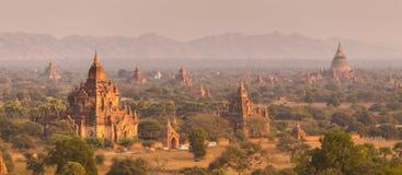 Tamples de Bagan, Burma, Myanmar, Ásia Fotos de Stock Royalty Free