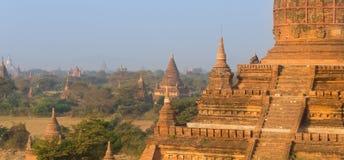 Tamples de Bagan, Burma, Myanmar, Ásia Imagem de Stock