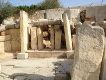 Tamples de Tarxien Foto de Stock Royalty Free