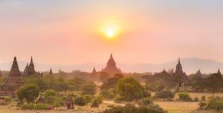 Tamples di Bagan, Birmania, Myanmar, Asia Fotografie Stock