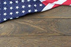 Tampo da mesa vista conceito do fundo do feriado do Dia da Independência do 4 de julho Fotos de Stock Royalty Free