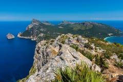 Tampão de Formentor Península Mallorca Fotografia de Stock
