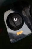 tampão do combustível do carro Imagem de Stock