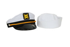 Tampão náutico do chapéu e de marinheiro Foto de Stock Royalty Free