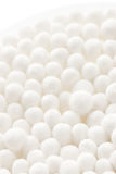Tampon from cotton wool royalty free stock photos