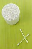 Tampon de coton Images stock