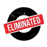 Tampon en caoutchouc éliminé Image libre de droits