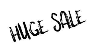 Tampon en caoutchouc énorme de vente illustration libre de droits