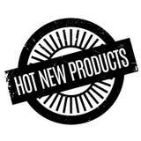 Tampon en caoutchouc chaud de nouveaux produits Images libres de droits