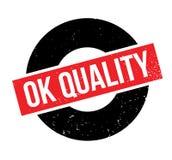 Tampon en caoutchouc correct de qualité Image stock