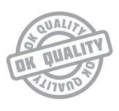 Tampon en caoutchouc correct de qualité Photographie stock