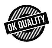 Tampon en caoutchouc correct de qualité Photographie stock libre de droits