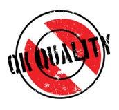 Tampon en caoutchouc correct de qualité Photos libres de droits