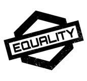 Tampon en caoutchouc d'égalité Photographie stock libre de droits