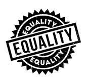 Tampon en caoutchouc d'égalité Image libre de droits
