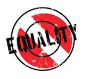 Tampon en caoutchouc d'égalité Images stock