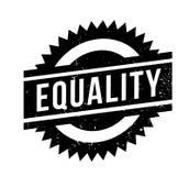 Tampon en caoutchouc d'égalité Images libres de droits