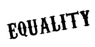 Tampon en caoutchouc d'égalité Photo libre de droits