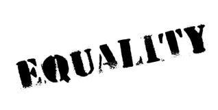 Tampon en caoutchouc d'égalité illustration libre de droits