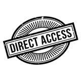 Tampon en caoutchouc d'accès direct Images stock