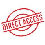 Tampon en caoutchouc d'accès direct Image stock